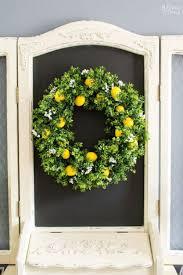 summer wreaths for front door10 DIY Summer Wreath Ideas  Outdoor Front Door Wreaths for Summer