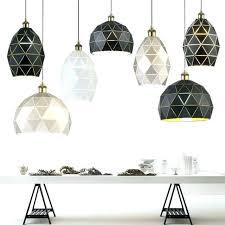 geometric ceiling light shade geometric ceiling light modern geometric pendant light for bar cafe restaurant bedroom new single iron hanging geometric