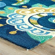 blue yellow rug and area rugs s gray