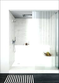 shower wall ideas best bathroom pebble tile and stone images on