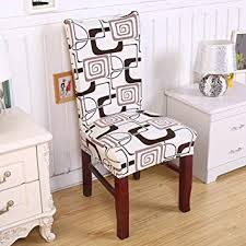 dining room chair covers uk. Modren Chair Dining Room Chair Cover Greencolourful Household Hotel Office Printing  Dustproof Universal Seat With Covers Uk M