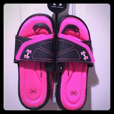 under armour sandals for girls. ❣️just reduced❣️girls ua slides - avail. in size 3 under armour sandals for girls