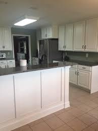 hainey kitchen cabinet refinish vintage white
