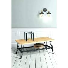 industrial style coffee table coffee table solid oak and steel industrial style coffee table solid oak