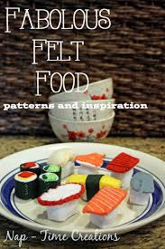 Felt Food Patterns Inspiration Lots And Lots Of Felt Food Inspiration Life Sew Savory