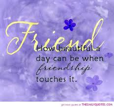 A Beautiful Friendship Quote
