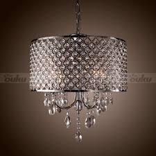 lamp shade large modern chandelier drum chandelier crystal 4 lights modern ceiling lighting