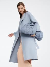 Light Blue Duster Coat Esturia
