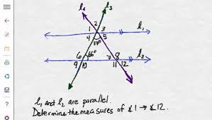 angles formed by parallel lines and transversals worksheet further Parallel Lines and Transversals Worksheet   Kuta Software Infinite also Parallel Lines and Transversals  Equal Angles as well Parallel Lines cut by Transversal Worksheet   Problems   Solutions together with Parallel Lines and Transversals Worksheet   Problems   Solutions furthermore Angles in parallel lines level 6 Grade C by mrobertson1987 further Parallel lines and transversal worksheet additionally Parallel Lines And Transversal Worksheet Worksheets for all as well Parallel Lines  Transversals  and Angles   Pyramid Sum Puzzle besides  moreover Parallel Lines and Perpendicular Transversals   Open Middle. on parallel lines and transversals worksheet