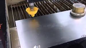 no sound introduction on how to use the waterjet cutter you