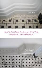 Caulking Kitchen Backsplash Inspiration Clean Vintage Bathroom Tiles Caulk More Cleanly With Painter's