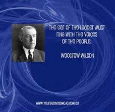 Pres Wilson Quotes. QuotesGram via Relatably.com
