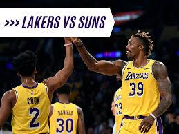 Ad racks up 35 points in lakers' preseason win vs. Lakers Vs Suns 2019 Nba Season Week 4 Betting Odds Pick