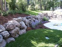 Small Picture 98 best Boulder Walls images on Pinterest Backyard ideas Garden