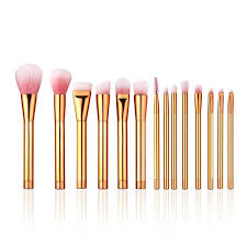 rose gold makeup brushes set nylon hair foundation blush powder concealer make up cosmetic brush kit maquillage 225669 best makeup brushes makeup