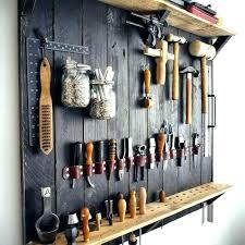 garden tool hangers for garage hanging rack wall holder tools on l10