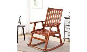 wood rocking chair single porch rocker indoor outdoor patio indoor wooden rocking chairs indoor wood rocking