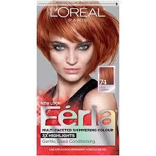 Buy L Oreal Paris Feria Multi Faceted Shimmering Colour Copper