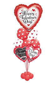 happy valentine s day balloon bouquet 9 balloons