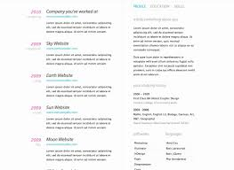 Free Resume Sites 100 Inspirational Photos Of Online Resume Templates Resume 52