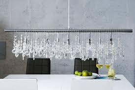 Pendelleuchte Esstisch Kristall Moderne Lampe E14 1mxgjg