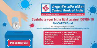 Yes, we offer unsecured personal loans and unsecured lines of credit. Central Bank Of India Pa Twitter Contribute Your Bit In Fight Against Covid 19 Donate To Pm Cares Fund Using Any Mode Including Upi Debit Card Credit Card Wallet Internet Banking Etc Please
