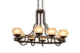 durango 8 light rectangular chandelier