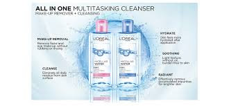 new micellar technology unique micellar molecules act like a magnet to remove makeup residue and impurities from skin thoroughly