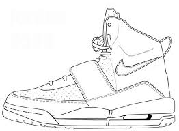 kanye west shoes coloring sheet yeezy coloring book adewa f on kanye archives pag