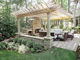 ... Unusual Fire Pits Lovely Backyard Structures For Entertaining ...