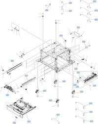 3x500 sheet paper deck ponents