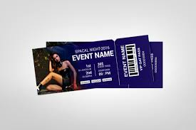 Party Event Ticket Design Template 001979 Template Catalog