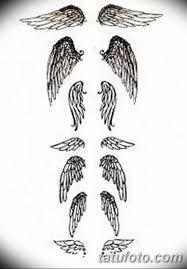 эскизы тату девушек крылья 08032019 013 Tattoo Sketches