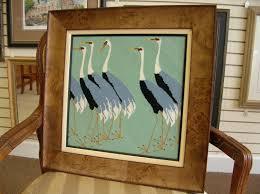 art framing. Needle Art Framing