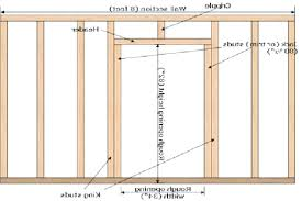 interior door header simple design garage door framing diagram version with standard interior door header height