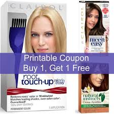 Head over to walmart and buy two clairol natural instincts $6.92, regular price. Clairol Hair Color Printable 5 Coupon Clairol Hair Color Clairol Clairol Root Touch Up