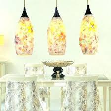 sea glass lighting mini pendant lights