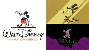 Animation Studios Mcduck Pictures Logo Is The Parody Of Walt Disney Animation