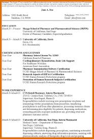 4-5 Pharmacy Student Cv | Titleletter