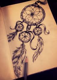 Pictures Of Dream Catchers To Draw Drawing With Pencil Dream Catcher Dreamcatcher Pencil Sketch 39