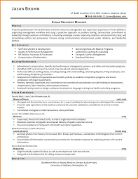 7 Resume For Human Resources Generalist Resume Cover Note