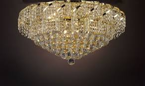 cjd ck flush cg 2173 26 french empire crystal flush chandelier