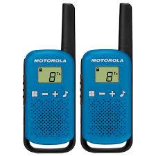 Купить <b>Рация Motorola Talkabout T42</b> Blue/Black (2 штуки) в ...