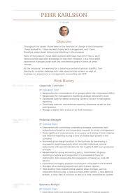 Corporate Controller Resume Samples Visualcv Resume Samples Database