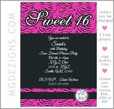 Free Save The Date Birthday Templates Sweet 16 Save The Date Birthday Debasishdas