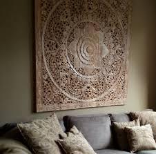Simply Pure Houten Wandpaneel 150x150cm White Wash Wanddecoratie