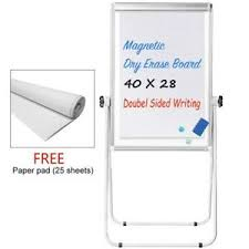 Chart Paper Stand Details About Stand White Board 40 X 28 Magnetic Flip Chart Pad Double Sided Whiteboard