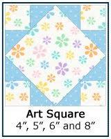 Free Quilt Block Patterns Library & ... Art Square quilt block tutorial ... Adamdwight.com
