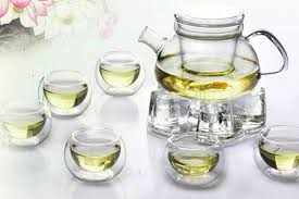 up to 77 off glass tea set from rm48