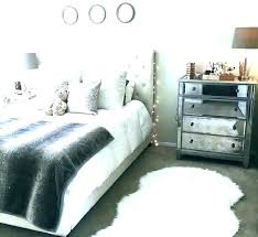 faux white fur rug bedroom rugs gorgeous furry fluffy r